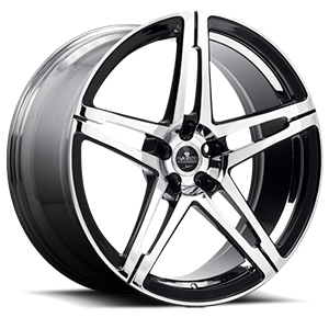 Savini Forged SV10-M 5 Chrome and Black