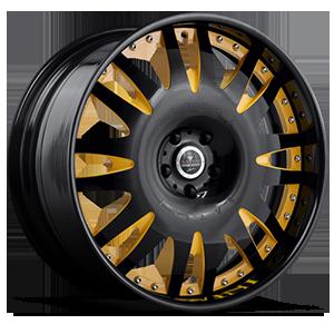 Savini Forged SV13 5 Black and Yellow