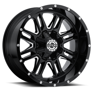 Scorpion SC-21 8 Black Milled