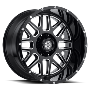 Scorpion SC-22 8 Gloss Black Milled