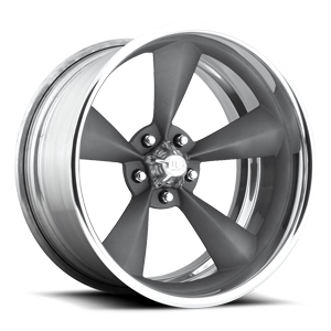 US Mags Standard Concave - U501 5 Textured Anthracite | Polished