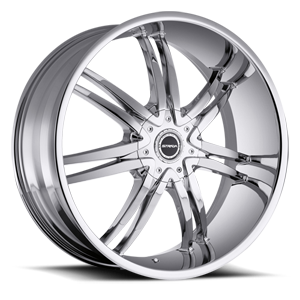 Strada Wheels Diablo 5 Chrome