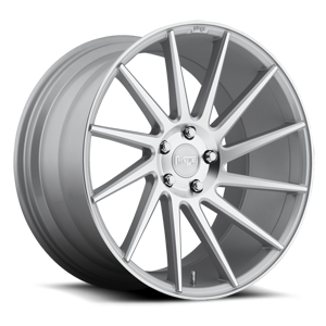 Niche Sport Series Surge - M112 5 Silver & Machined (R)