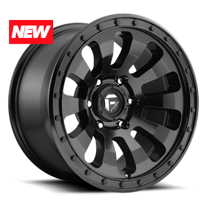Fuel 1-Piece Wheels Tactic - D630 5 Matte Black