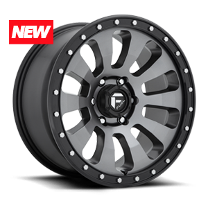 Tactic - D648 Anthracite w/ Black Lip 6 lug