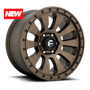 Tactic - D678 Bronze w/ Black Bolts 6 lug