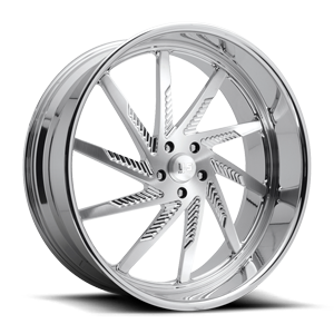 Thrasher - Forged Street Brushed w/ Polished Lip 5 lug