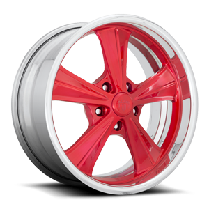 US Mags Thruster - U640 5 Candy Red w/ Polish Lip