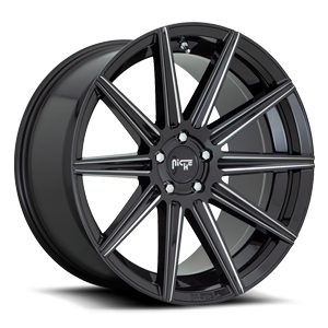 Tifosi - M243 Gloss Black & Milled 5 lug
