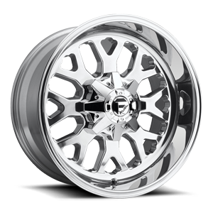 Fuel 1-Piece Wheels Titan - D586 5 Polished