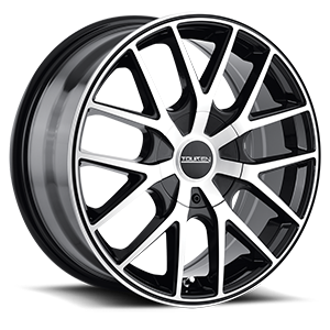 Touren Wheels TR60 5 Black Machined