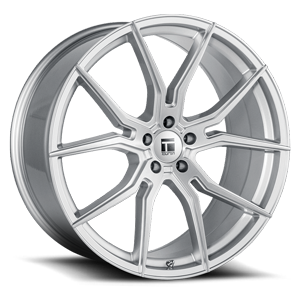Touren Wheels TF01 5 Brushed Silver Gloss