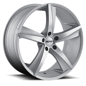 Touren Wheels TR72 5 Silver Machined