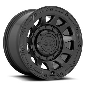 Tracker - D729 Matte Black 6 lug