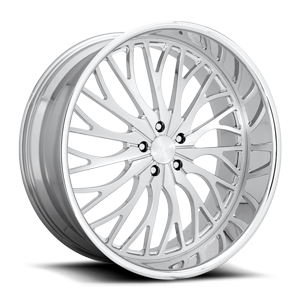DUB Forged Trikk - X86 5 Brushed w/ Polish
