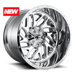Fuel 2-Piece Wheels Triton - D210 6 Chrome