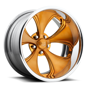 US Mags Templar Concave - U818 5 Brushed Copper | Polished Lip