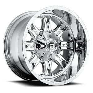 Fuel Deep Lip Wheels Throttle - D512 8 Chrome