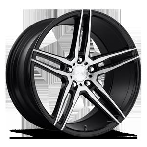 Niche Sport Series Turin - M169 5 Gloss Black Brushed