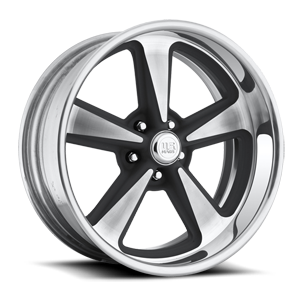 Bandit - U304 Black Machined 5 lug