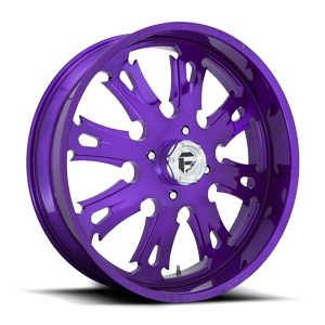 FF38 - UTV Candy Purple & Milled 4 lug