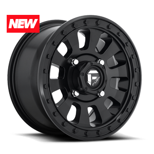 Fuel UTV Wheels Tactic - D630 - UTV 4 Matte Black