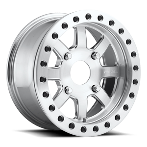 Fuel UTV Wheels Trophy - D105 Beadlock 4 Brushed | Polished