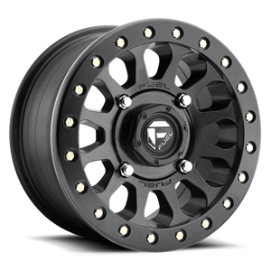 Fuel UTV Wheels Vector - D920 - Beadlock 4 Matte Black