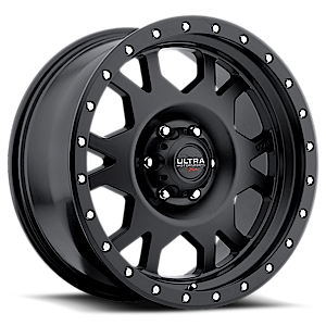 Ultra Motorsports Xtreme 102 Xtreme X-Lok 6 Satin Black with Satin Black X-Lok Lip