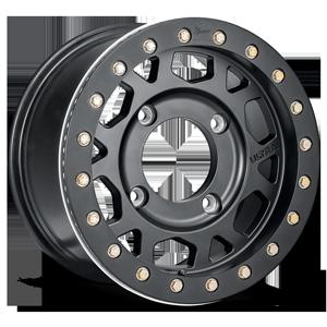Ultra Motorsports Xtreme 103 Xtreme UTV 4 Satin Black with Satin Black Bead-Lock
