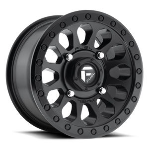 Fuel UTV Wheels Vector - D579 - UTV 4 Matte Black