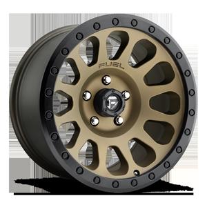 Fuel 1-Piece Wheels Vector - D600 5 Bronze