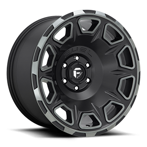 Vengeance - D686 Matte Black/Machined/DDT 6 lug