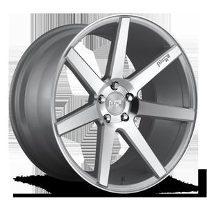 Niche Sport Series Verona - M179 5 Silver & Machined