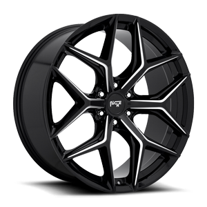 Vice - M232 SUV Gloss Black & Milled 6 lug