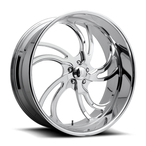 Villain 5 - Precision Series Polished 5 lug