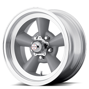 American Racing Custom Wheels VN309 Torq Thrust Original 5 Vintage Silver w/ Machined Lip