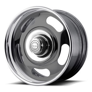 American Racing Custom Wheels VN327 Rally 5 Two-Piece Gray Center w/ Polished Barrel