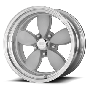 American Racing Custom Wheels VN402 Classic 200S 5 Two-Piece Mag Gray Center Polished Barrel