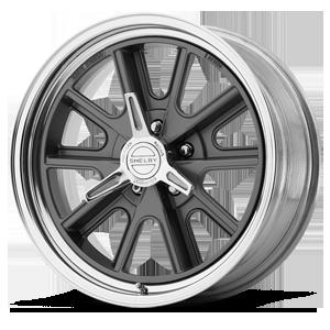 American Racing Custom Wheels VN427 Shelby Cobra 5 Two-Piece Gray Center w/ Polished Barrel