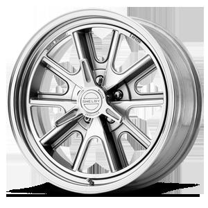 American Racing Custom Wheels VN427 Shelby Cobra 5 Two-Piece Polished