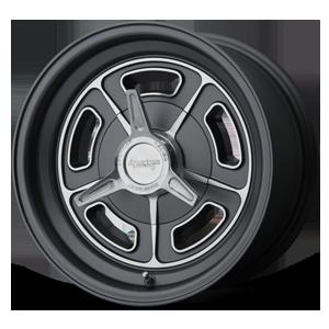 American Racing Custom Wheels VN502 5 Matte Black Machined