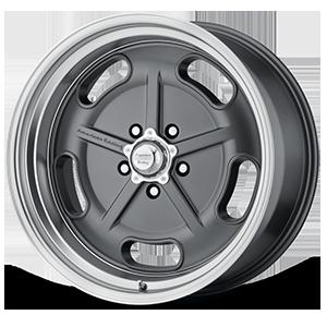 American Racing Custom Wheels VN511 5 Gunmetal with Chrome Lip