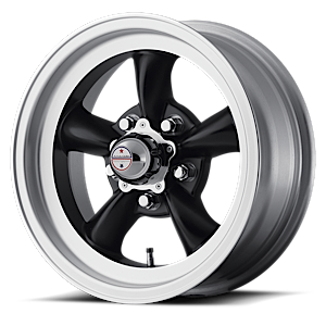 American Racing Custom Wheels VN105D Torq Thrust D 5 Satin Black w/ Machined Lip
