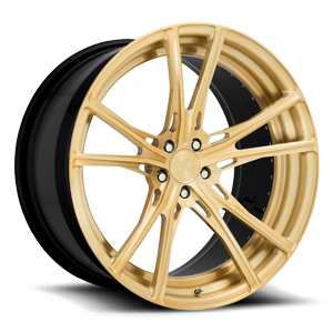 Vulcan Brushed Satin Gold 5 lug
