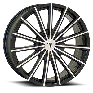 Velocity Wheels VW10 5 Black Machined