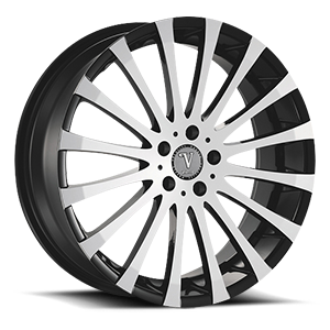 Velocity Wheels VW13 5 Black Machined
