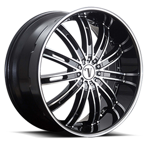 Velocity Wheels VW14 5 Black Machined