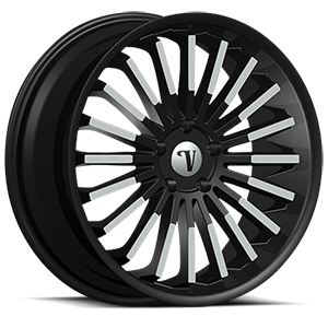 Velocity Wheels VW18 5 Black Machined