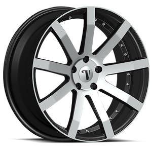 Velocity Wheels VW19 5 Black Machined